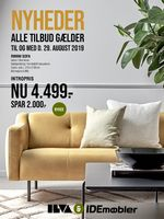 Ide Møbler tilbudsavis gyldig fra 26/08-29/08